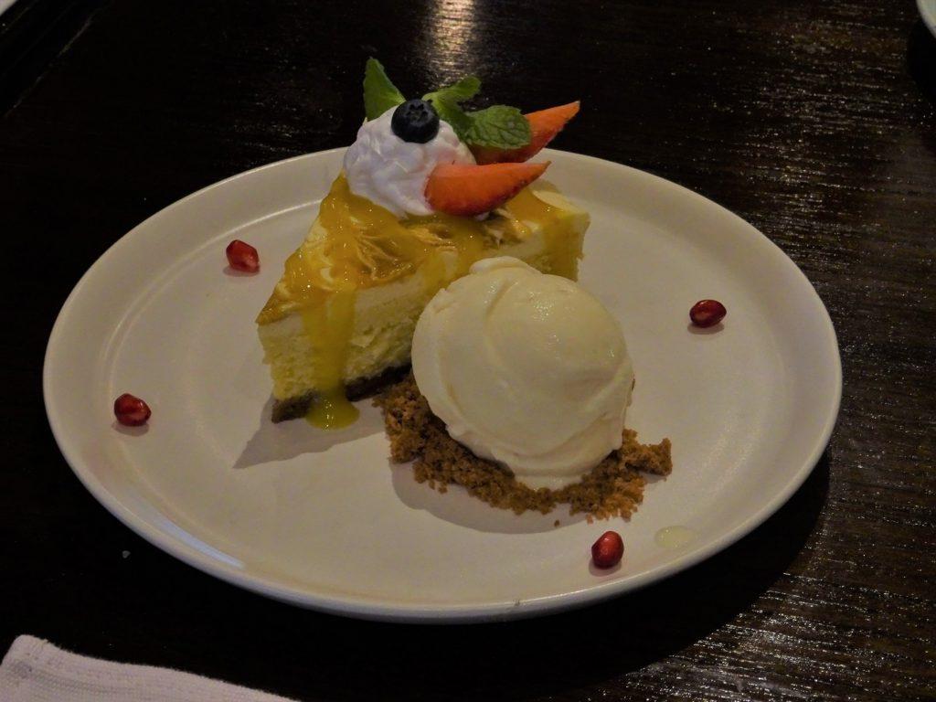 タイでのゴルフでお腹が空いたら…バンコクの高級タイ料理店「ブルーエレファント」のデザート