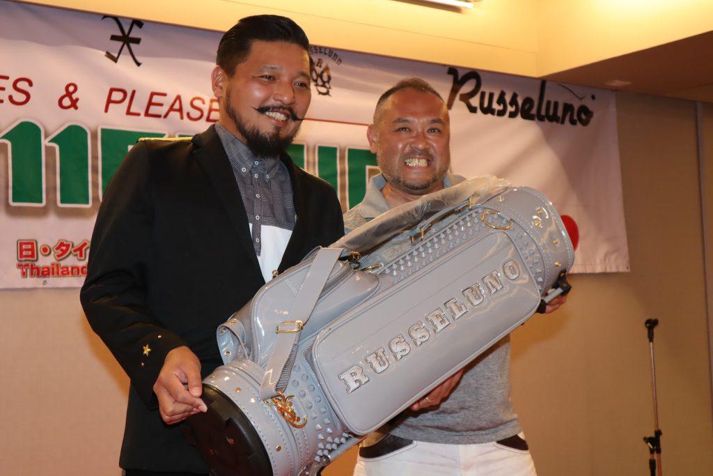 日・タイゴルフフェスティバル2019 「ZEN Golfer's Factory×RUSSELUNO sponsored by 梅村コーポレーション」表彰式