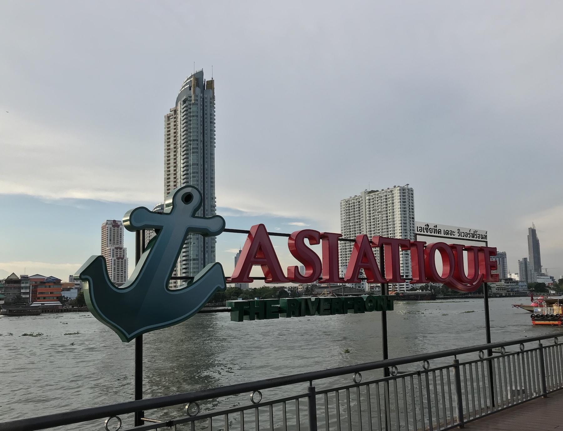 バンコクの夜風に優しく吹かれながら「アジアティーク・ザ・リバーフロント」へ