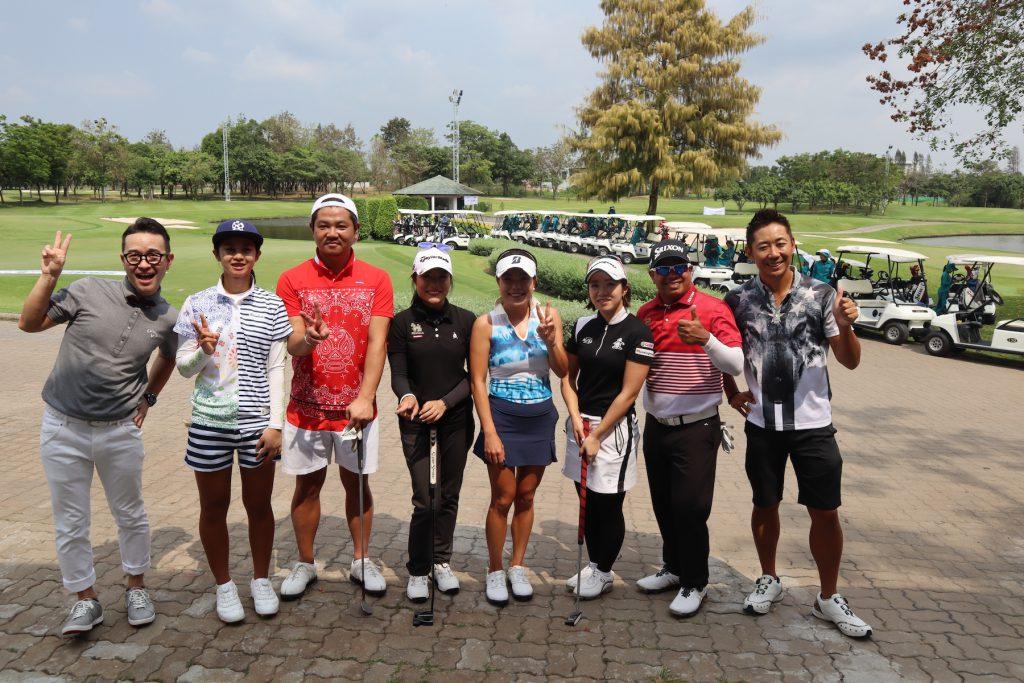 日・タイゴルフフェスティバル2019 「ZEN Golfer's Factory×RUSSELUNO sponsored by 梅村コーポレーション」参加プロ&司会者