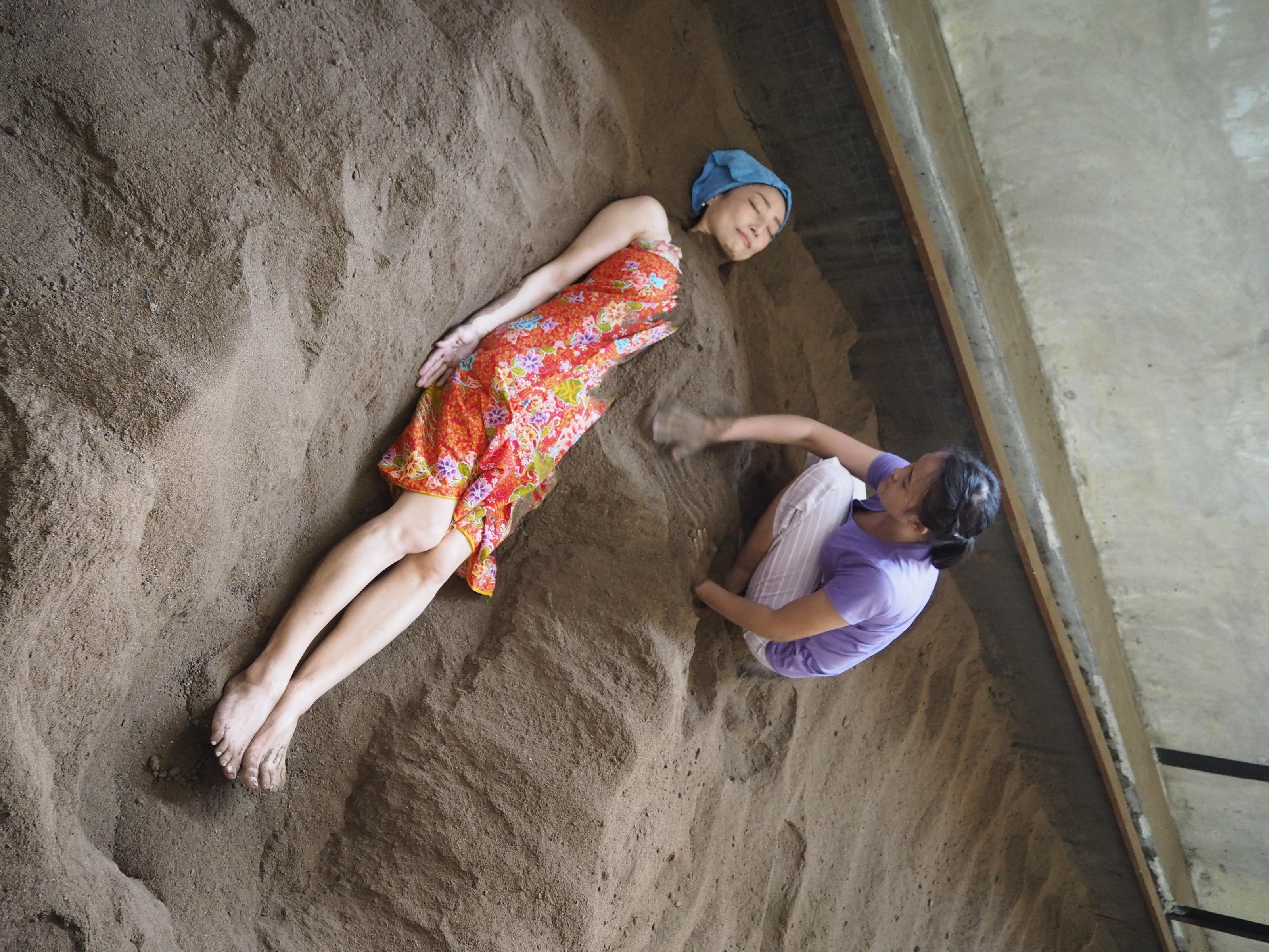 タイでのゴルフ後の疲労回復・健康作りにぴったり!免疫力をアップする「サラブラン」の酵素風呂