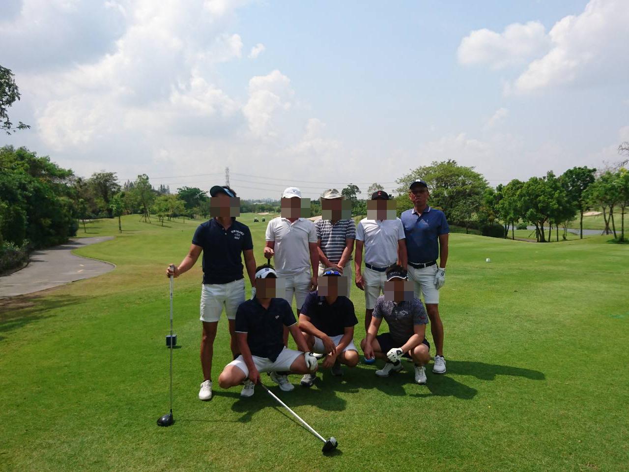 御堂21倶楽部様御一行「タイ・バンコク6泊4日 プライベートゴルフ合宿」