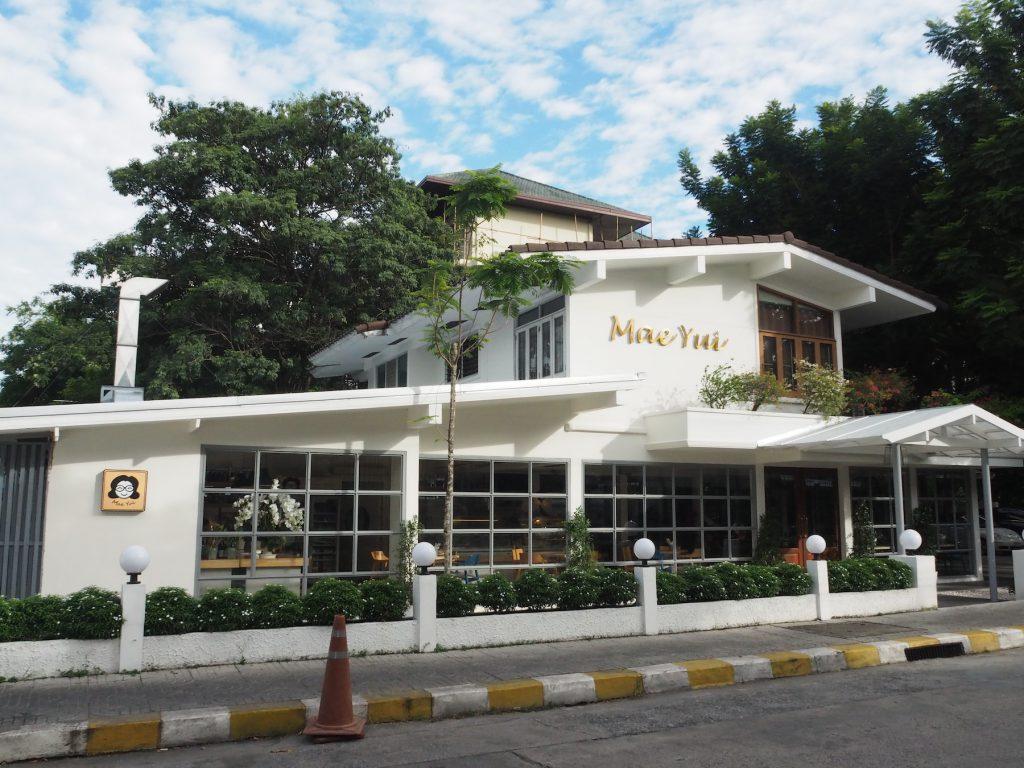 バンコク、アーリーにあるトムヤムクンの名店「バーンメーユイ」の外観
