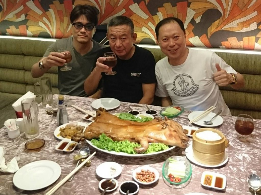 森川様御一行レストラン(豚の丸焼き)
