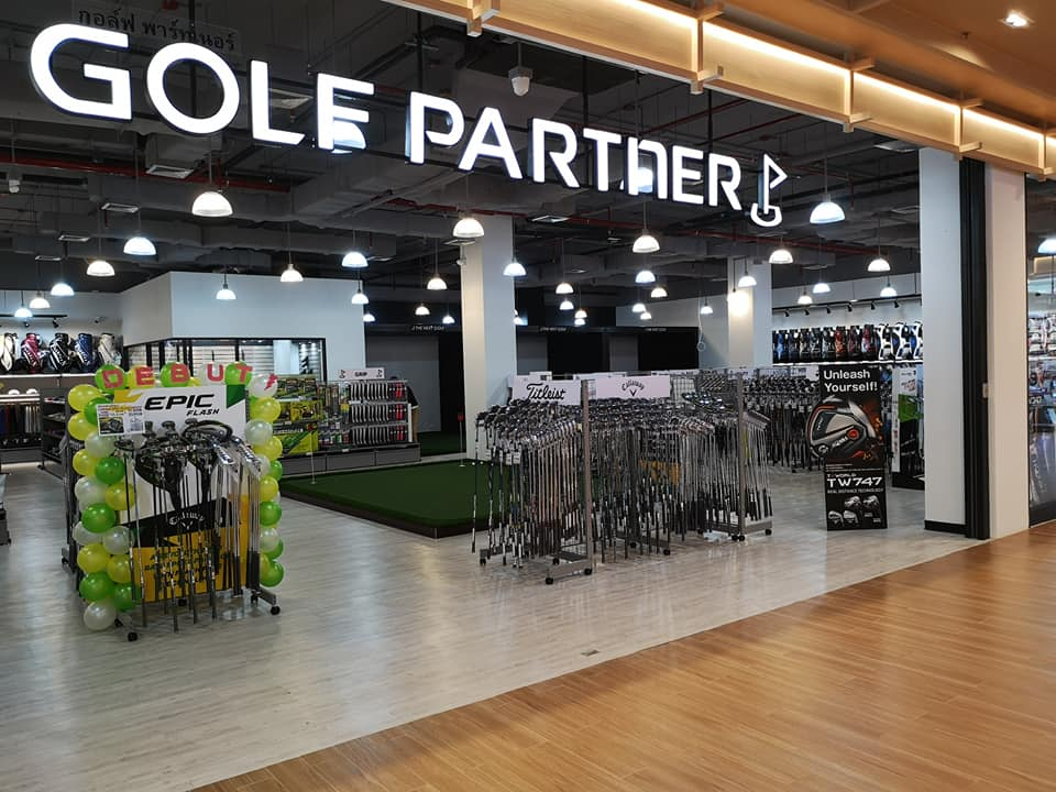 止まらない勢いで出店拡大中の「ゴルフパートナー」 タイにも大型ゴルフショップが誕生!