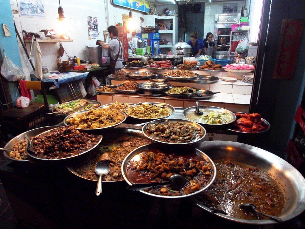 ヤワラー(ヤワラート)では100年以上続く飲食店も珍しくない