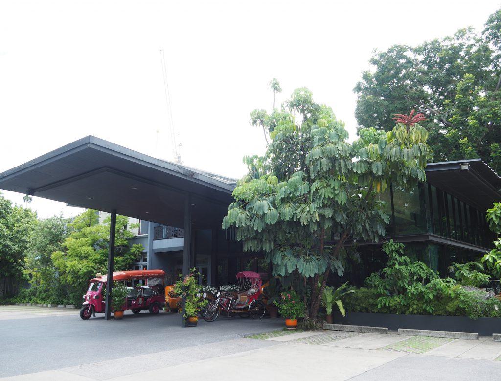 バンコクの一軒家タイ料理レストラン「タリンプリン スクンビット34店」の外観