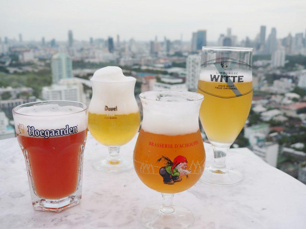 ベルギービール4種