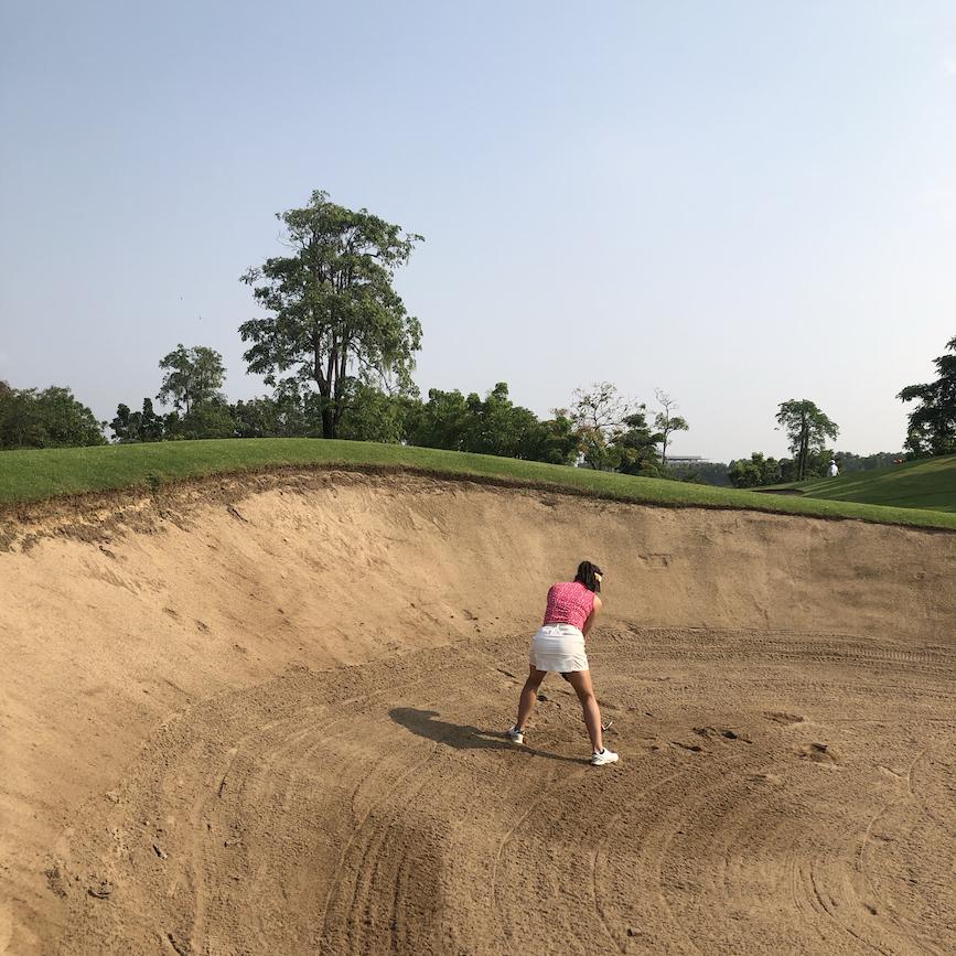 4日目;ゴルフ②