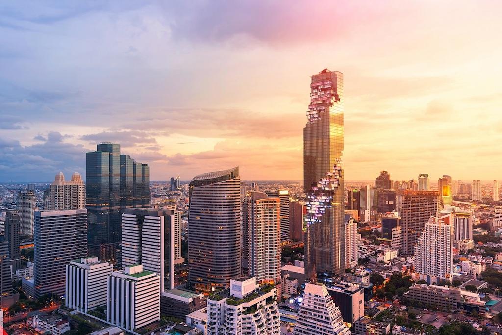 バンコクの壮大なパノラマが一望できるタイで一番高い場所にある展望台「マハナコーン・スカイウォーク」