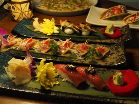 シーン 料理寿司