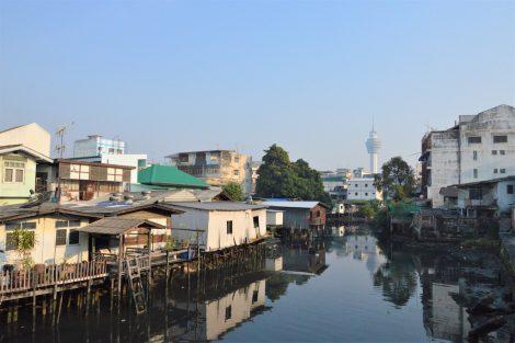 サムットプラカンの市街地
