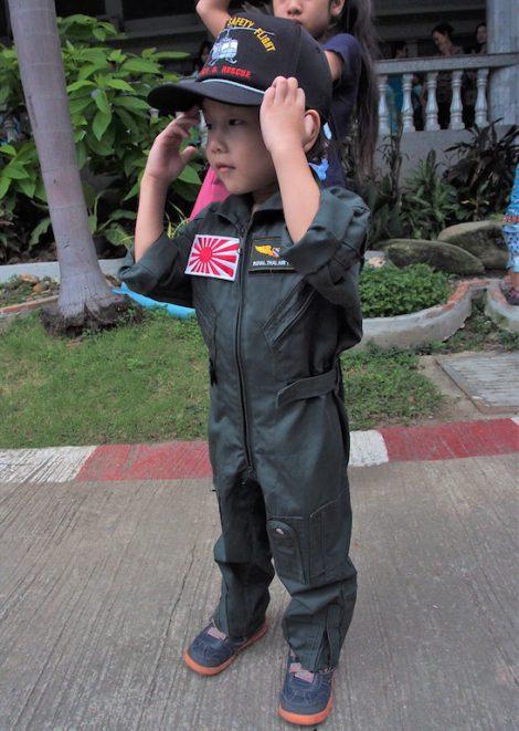 子供用フライトスーツ