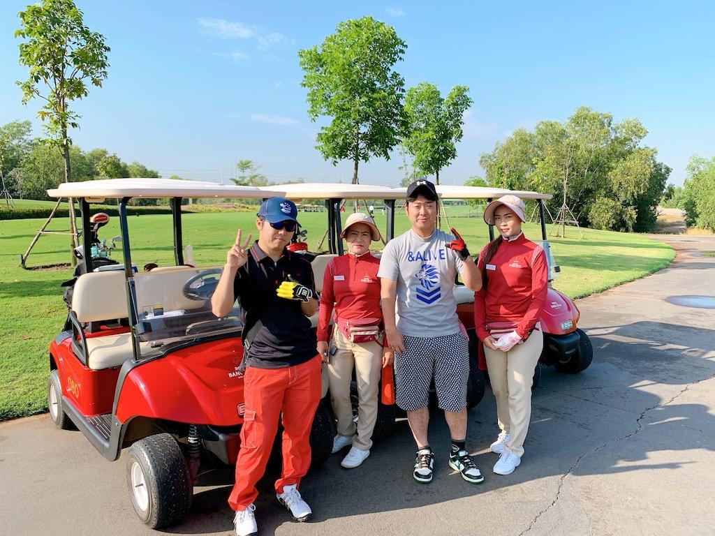 坂崎様御一行様「タイ・バンコク2泊3日 ゴルフツアー」