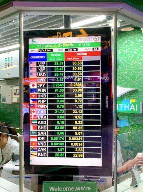 空港レート