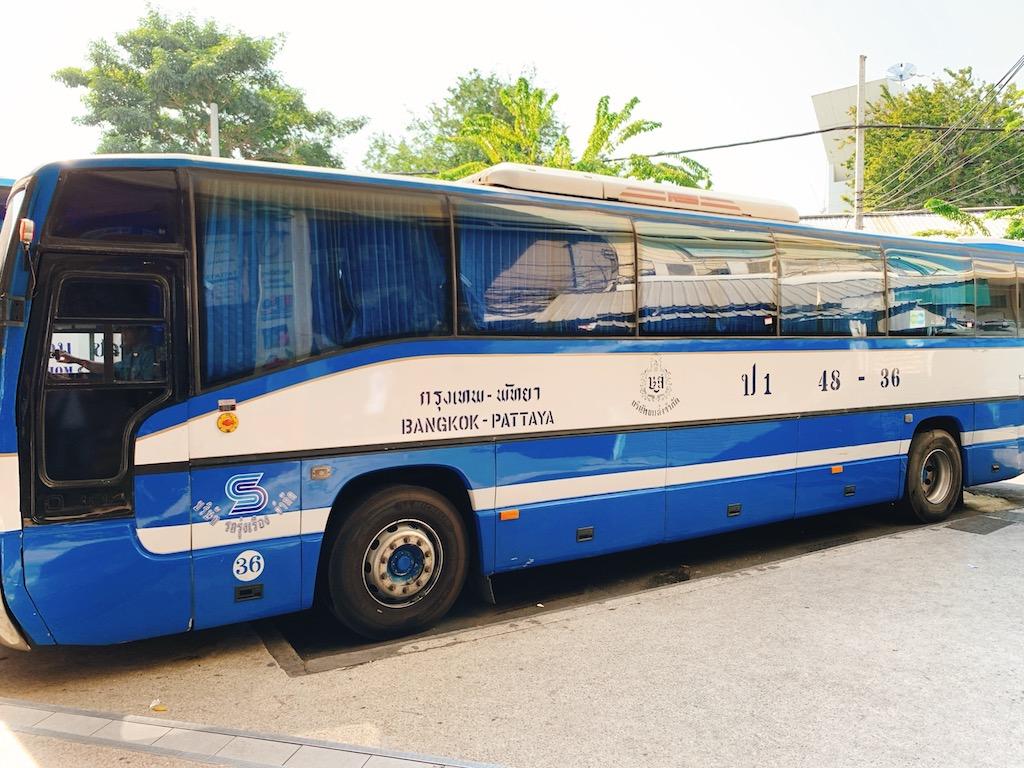バンコクからパタヤまで移動するならエカマイからバスがオススメ!パタヤまでバスでの行き方。