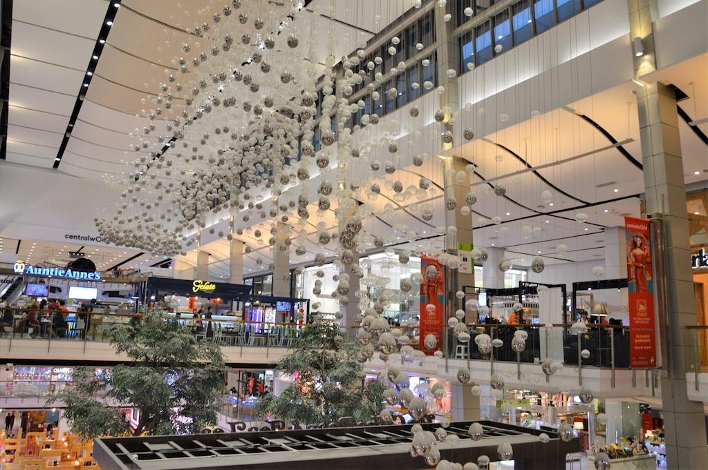 タイ最大手のデパートチェーンの旗艦店「セントラル・ワールド」