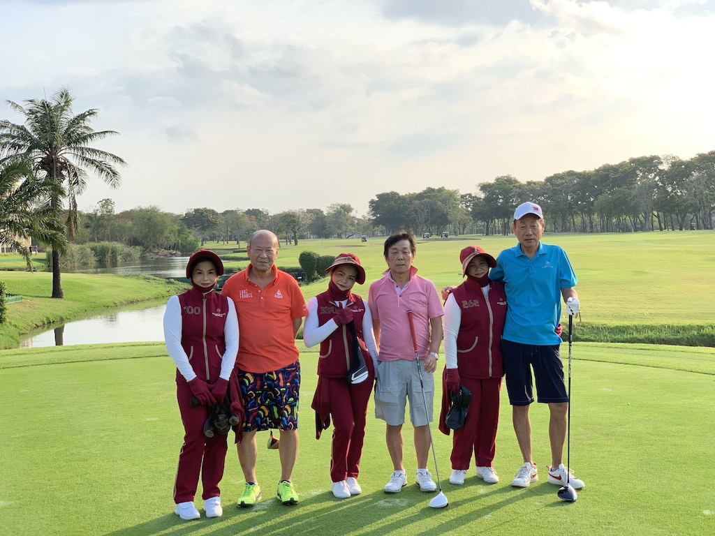 土田様御一行様 「バンコク5ラウンド ゴルフツアー」