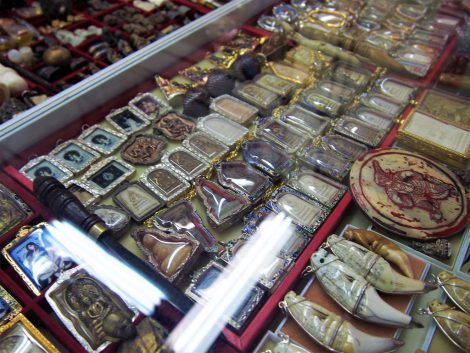 タープラチャン市場 プラクルアン売場
