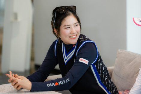 松原選手②