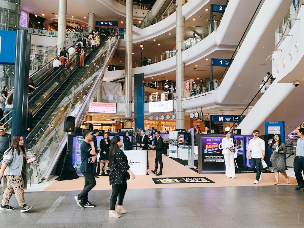 BTSアソーク駅直結のショッピングモール「ターミナル21」