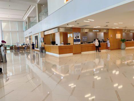 バンコク病院院内受付