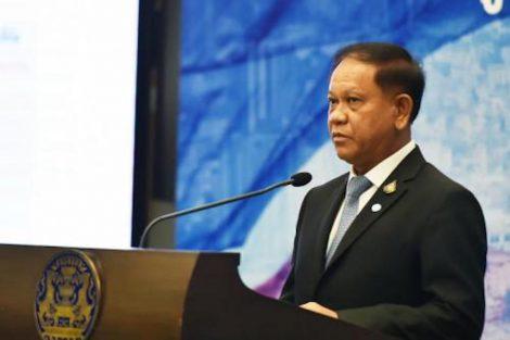 タイ政府会見