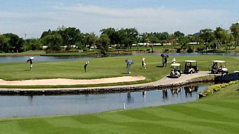 タイのゴルフ場