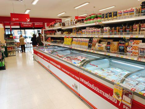 マクロ 冷凍食品売り場