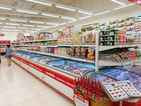 マクロ 冷凍食品売場