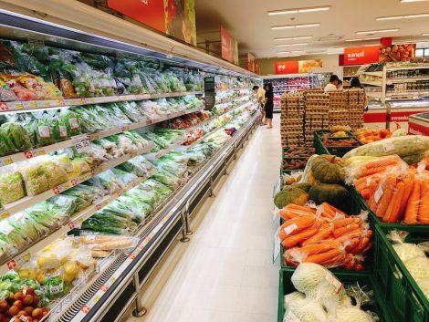 マクロ 生鮮食品売場