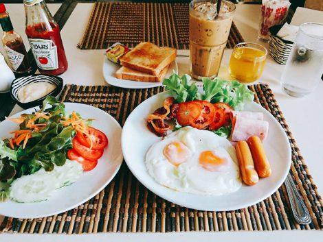 スワンゴルフ 朝食