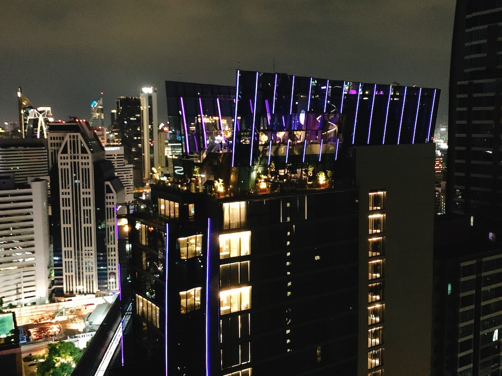 デートにおすすめ!バンコクの夜景を一望することができるルーフトップバー「スペクトラム・ ラウンジ&バー(Spectrum Lounge & Bar)」