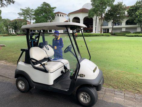 スワンナプームゴルフ ゴルフカート