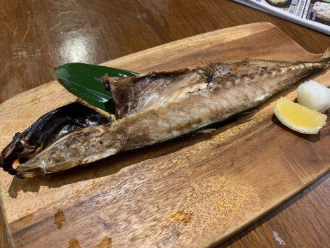 原始焼 焼魚