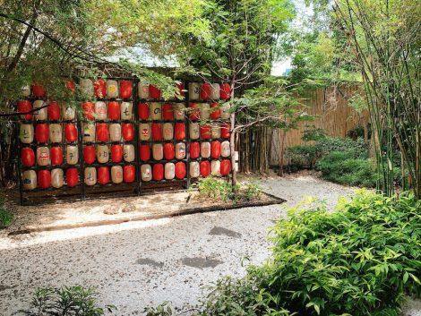 湯の森温泉 中庭