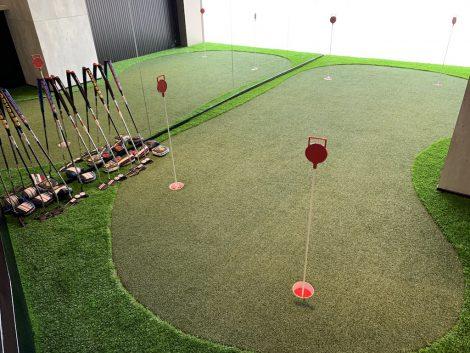 ゴルフポイントセンター パター練習