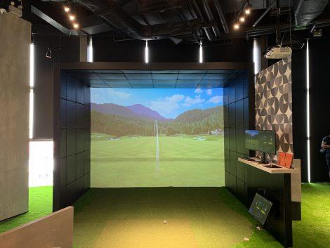 ゴルフポイントセンター 室内練習所
