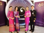 経営再建中のタイ国際航空の機内を模した内装の「タイ航空本社カフェ(THAI Catering)」