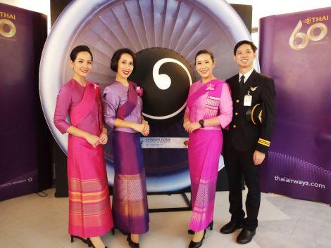 タイ航空カフェ スタッフ