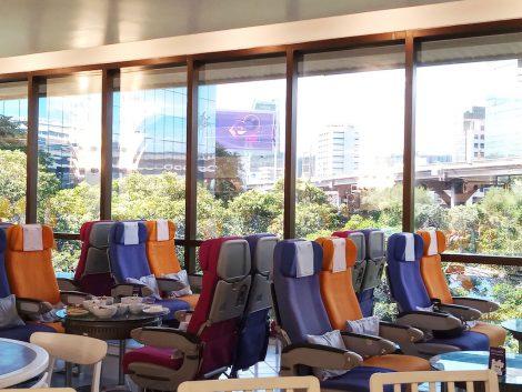 タイ航空カフェ 客席