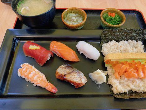田中水産 寿司ランチ
