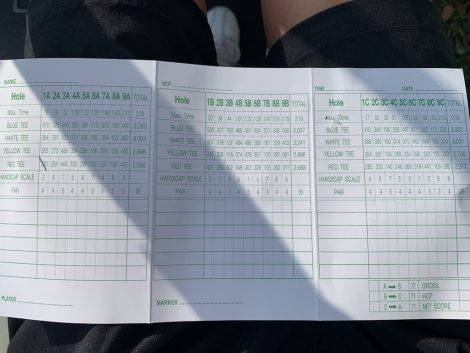 バンサイゴルフ スコアカード