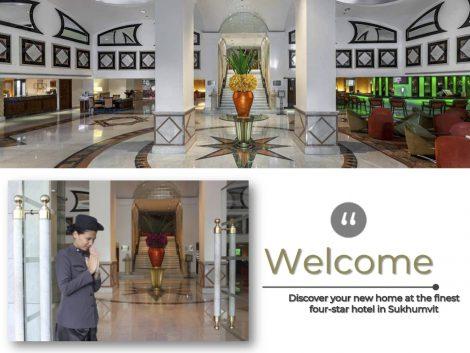 レンブラントホテル ロビー