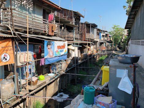 クローンスアン百年市場 運河