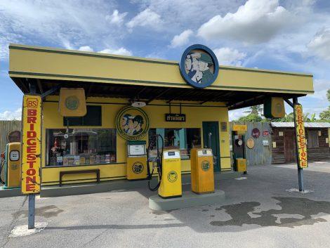 チョムチューイカフェ ガソリンスタンド