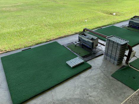 シーナカリンゴルフ 1階打席マシン