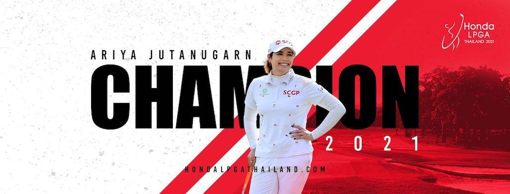 2021年ホンダLPGAタイランドは、地元タイのアリヤ・ジュタヌガーンが逆転優勝!渋野日向子は34位