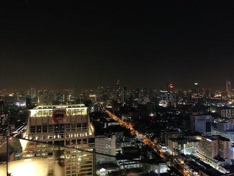 クリュシャンパンバー 夜景