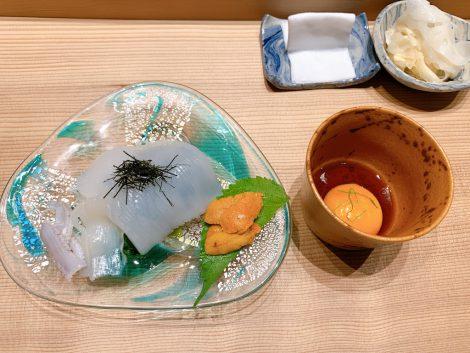 まさ寿司 イカソーメン